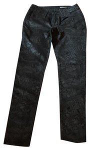 Black Orchid Denim Straight Leg Jeans-Coated