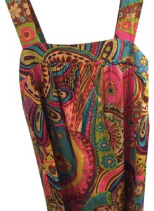 MILLY short dress multi colored on Tradesy