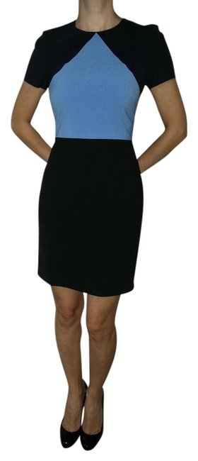 Item - Blue/Black Short Work/Office Dress Size 0 (XS)
