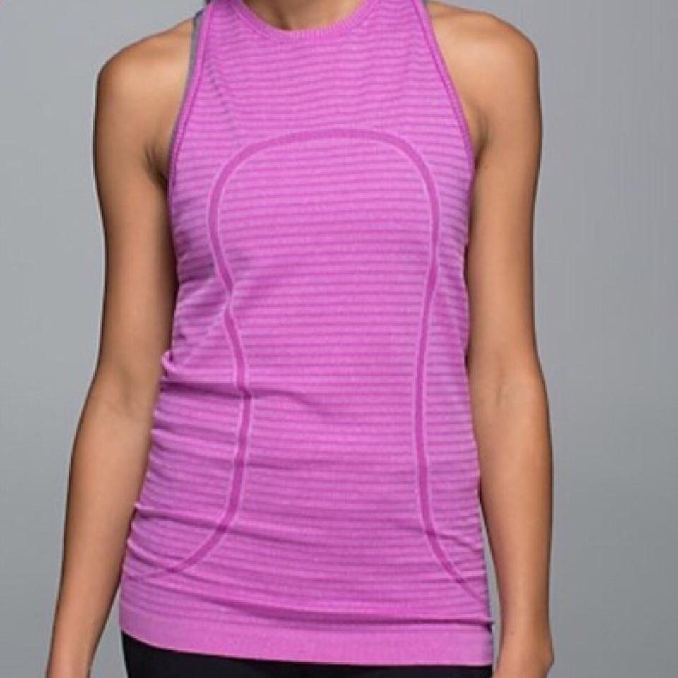 d531d1bb9924c Lululemon High Neck Swiftly Activewear Top Size 2 (XS) - Tradesy