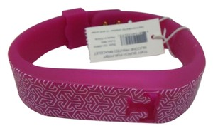 Tory Burch Tory Burch Fitbit Silicone Print Bracelet