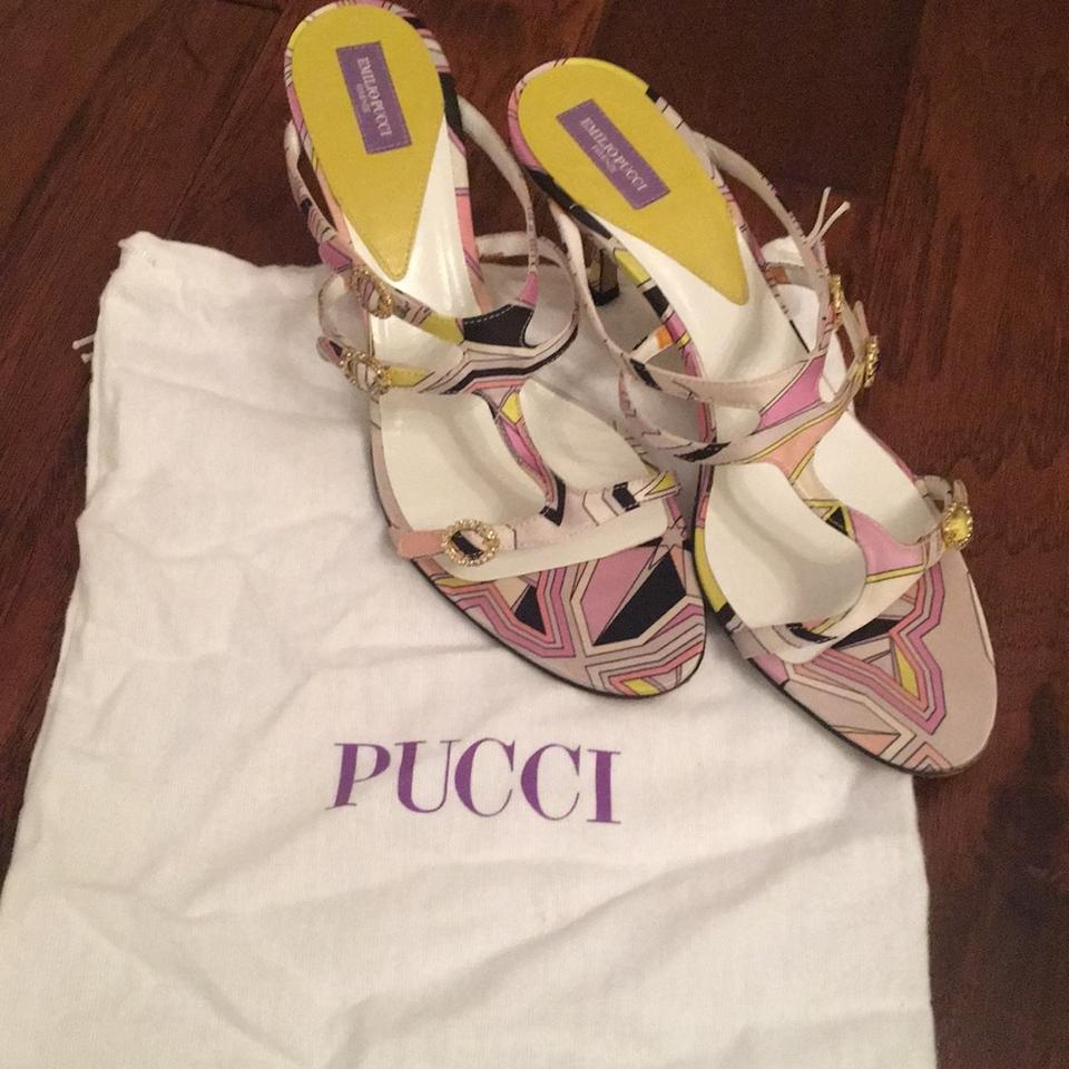 Lilac Octagon Sa Pucci Yellow Pumps and Emilio Rf7q5w