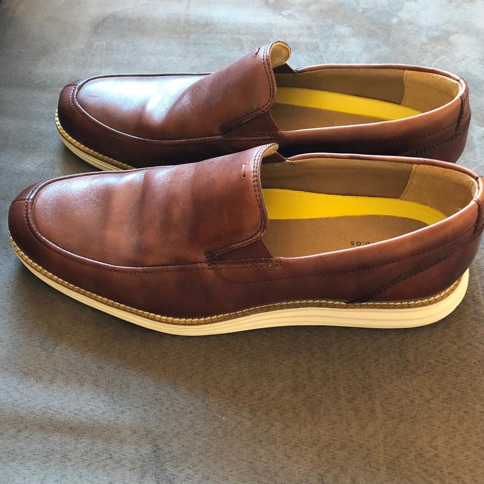 a3608468cb2 Cole Haan Brown Men s Grand Venetian Loafer Flats Size US 10.5 ...