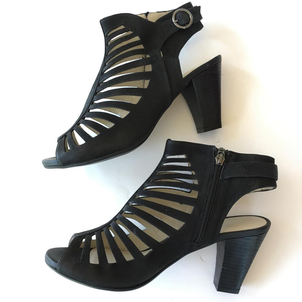 wholesale dealer 0bbc5 b4f61 Gerry Weber Black Cut Out Ankle Sandal Boots/Booties Size EU 41 (Approx. US  11) Regular (M, B) 44% off retail