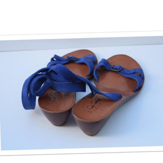 Madewell royal blue Sandals Image 2