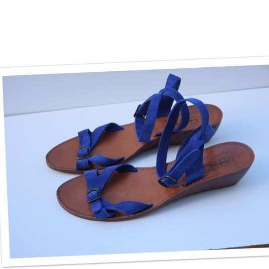 Madewell royal blue Sandals Image 3