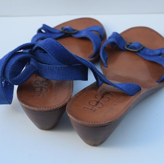 Madewell royal blue Sandals Image 5