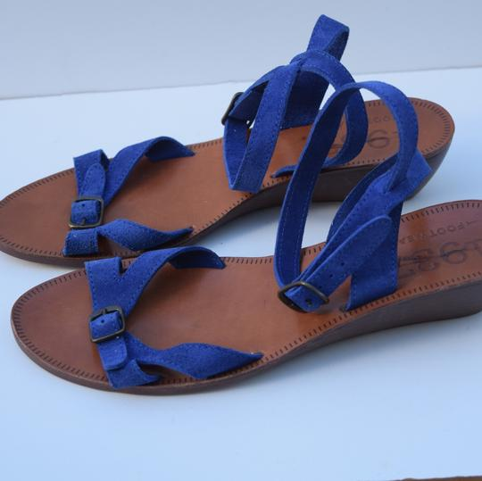 Madewell royal blue Sandals Image 6