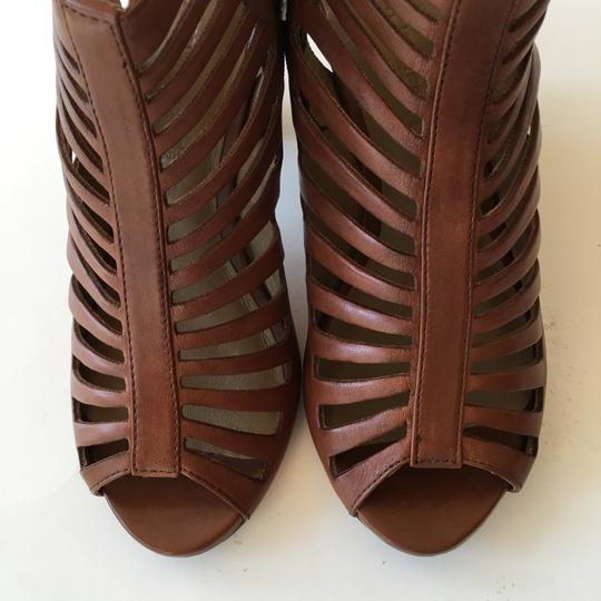 Gerry Weber Leather Cream Brown Boots Image 2