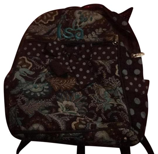 Preload https://img-static.tradesy.com/item/22231523/like-new-brown-and-blue-paisley-backpack-0-1-540-540.jpg