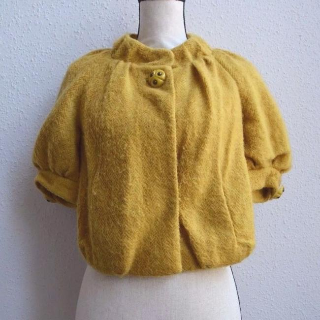 Anthropologie yellow Jacket Image 1