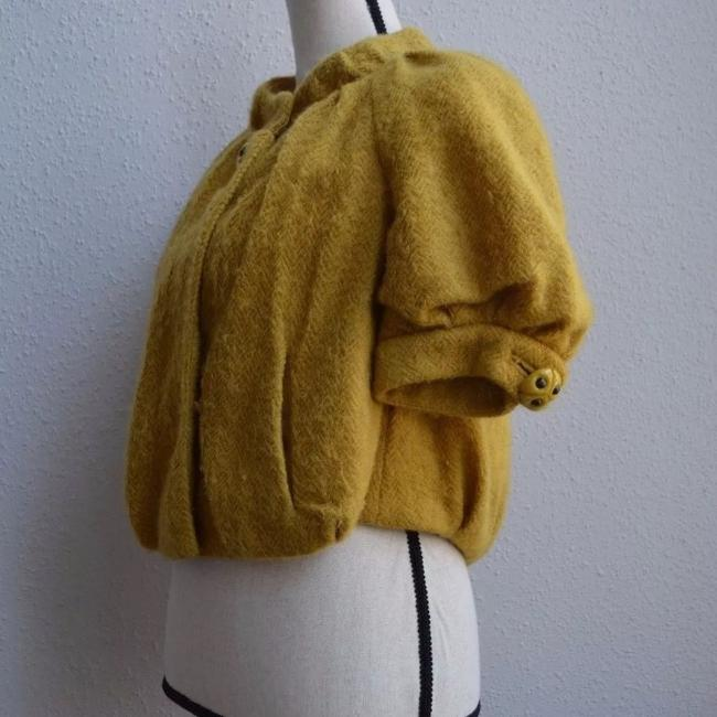 Anthropologie yellow Jacket Image 2