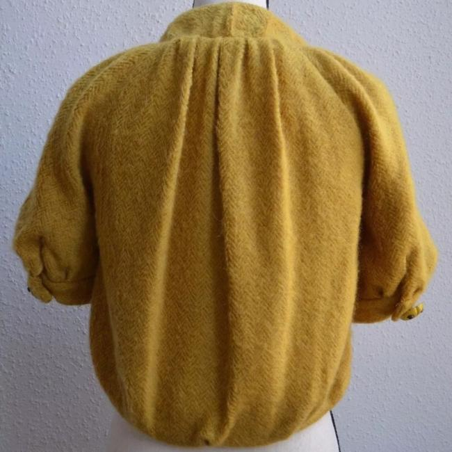 Anthropologie yellow Jacket Image 4