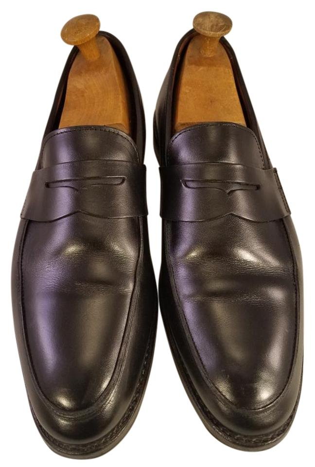 a85a94f382c2 Brooks Brothers Man Fine Loafers Made In Usa Black Formal Image 0 ...