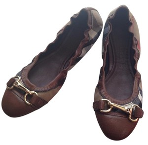 0f190b211e467 Brown Tory Burch Flats - Up to 90% off at Tradesy (Page 2)