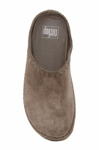 FitFlop Suede Slip On brown Mules