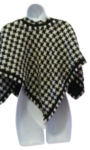 Ice Tapestry Checkered Luxury Houndstooth Flowy Sweater
