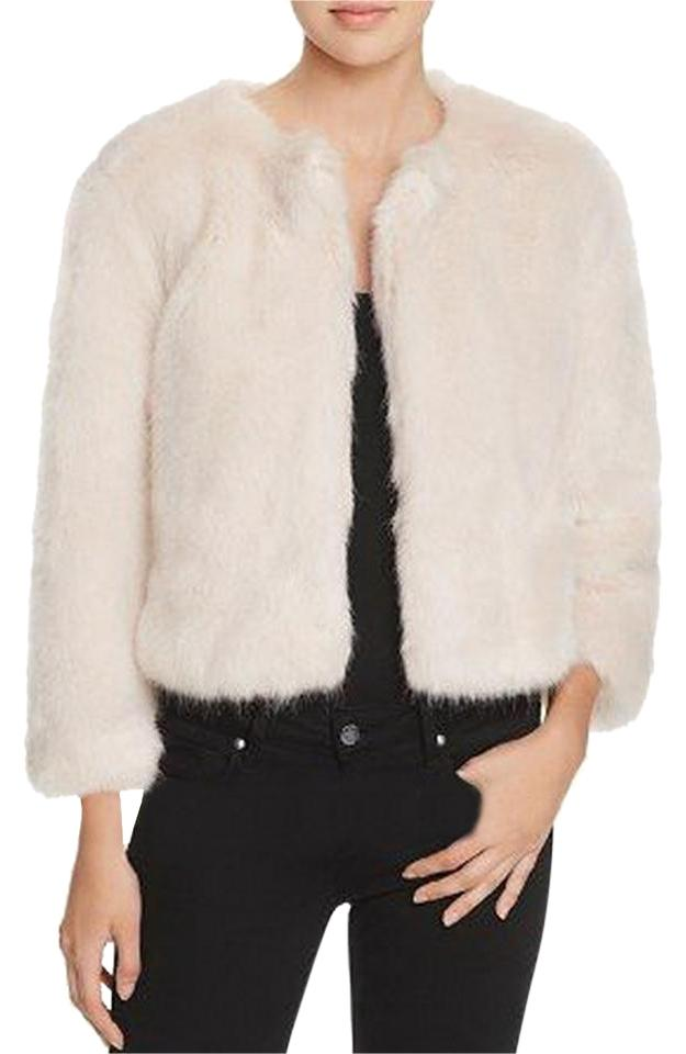 professional sale popular stores well known Light Pink Faux Fur Jacket Size 8 (M) - Tradesy
