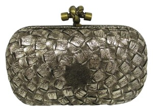 Bottega Veneta Woven Antique gold Clutch