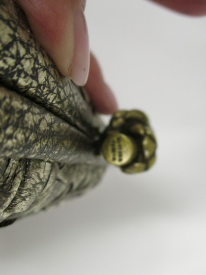 Bottega Veneta Woven Antique gold Clutch Image 5