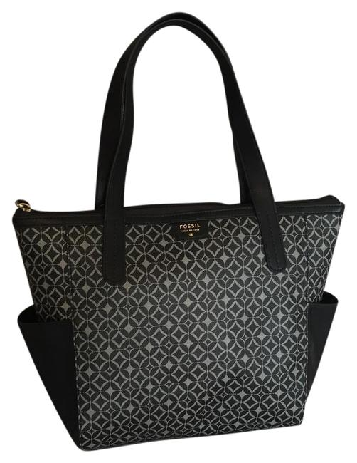 Item - Mimi Shopper Msrp 128.00 Black and Gray Tote