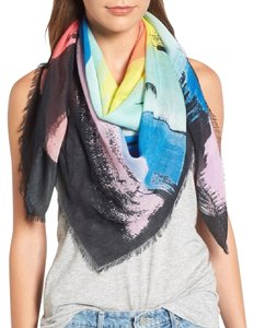 Rebecca Minkoff New Painterly Oblong Scarf