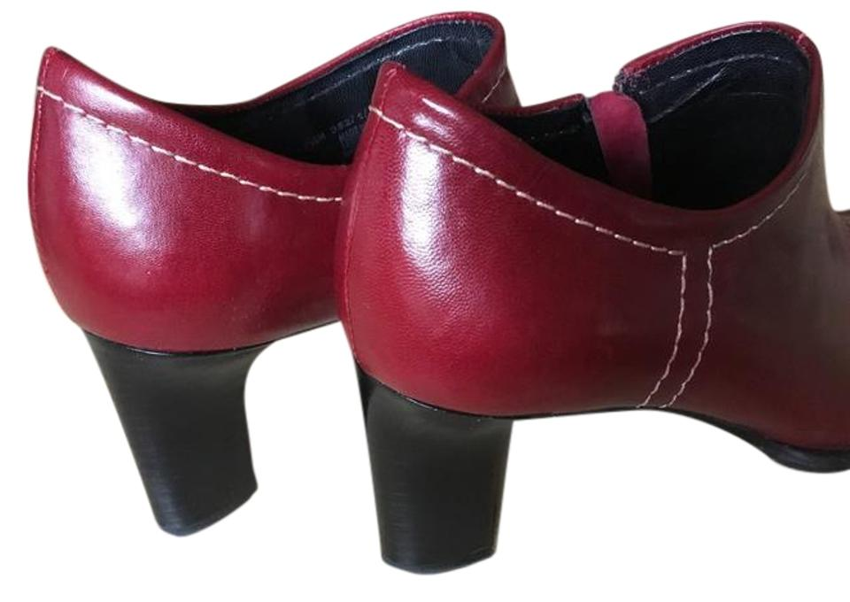 LADY Franco Sarto Burgundy Boots/Booties price Low price Boots/Booties 7b60b5