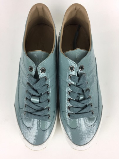 Hermès Ciel Blanc Goal Epson Sport Woman Sneakers Blue & White Athletic Image 0