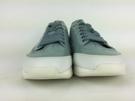 Hermès Ciel Blanc Goal Epson Sport Woman Sneakers Blue & White Athletic Image 1