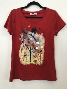 Rinascimento T Shirt Red