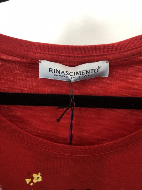 Rinascimento T Shirt Red Image 3