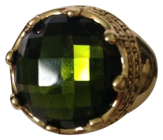 Preload https://img-static.tradesy.com/item/2223466/greengold-nwot-faceted-crystal-in-antiqued-gold-tone-crown-design-ring-size-7-0-0-540-540.jpg