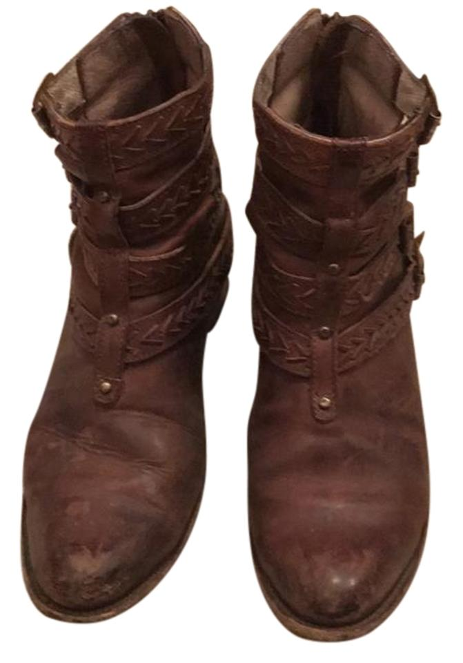 WOMENS FreeBird Boots/Booties Brown Roper Boots/Booties FreeBird Rich on-time delivery 98e4d8