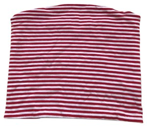 Brandy Melville Top red/white