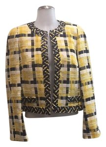 Weill Yellow, Black,White Blazer