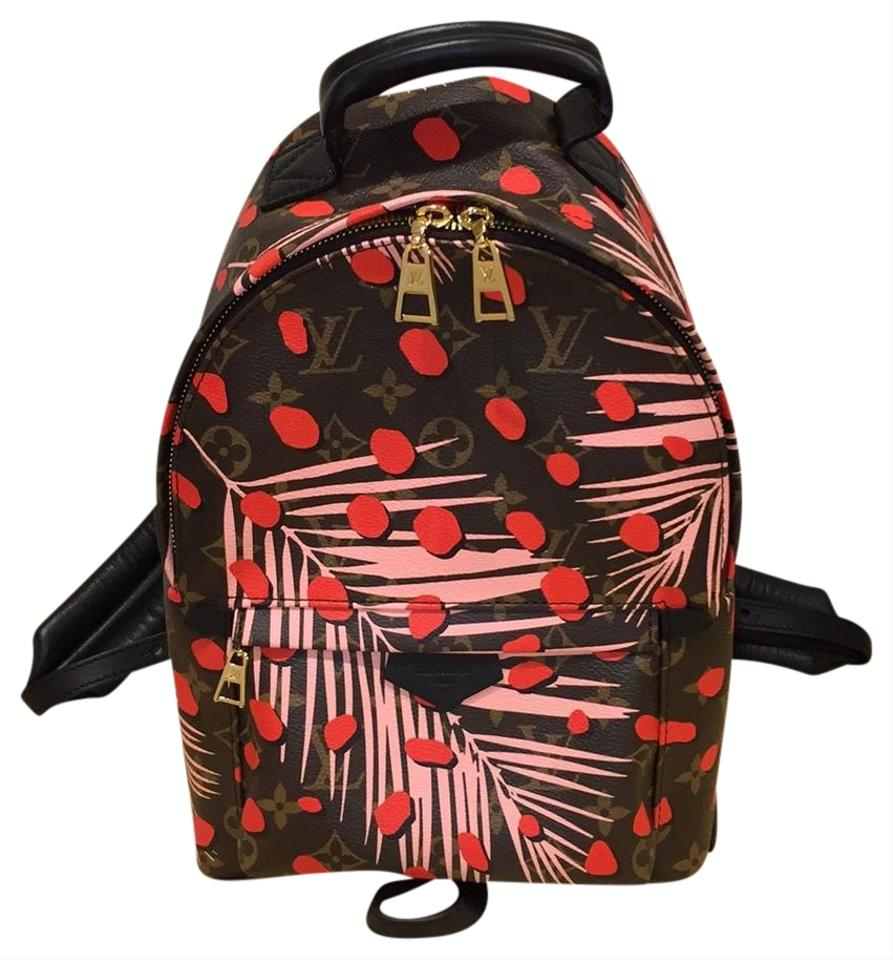 8840671155dd Louis Vuitton Jungle Palms Spring Mini Palms Springs Pm Limited Edition  Backpack Image 0 ...