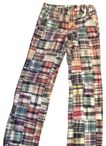 J.Crew Relaxed Pants Madras- Patchwork
