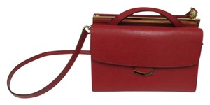 Fendi Demi Jour Piccola Saffiano Leather New Without Cross Body Bag