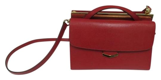 Fendi Demi Jour Piccola Saffiano Leather New Without Cross Body Bag Image 0