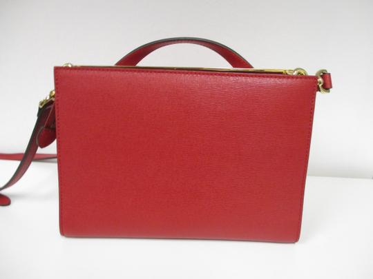 Fendi Demi Jour Piccola Saffiano Leather New Without Cross Body Bag Image 1