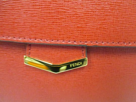 Fendi Demi Jour Piccola Saffiano Leather New Without Cross Body Bag Image 2