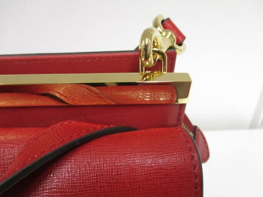 Fendi Demi Jour Piccola Saffiano Leather New Without Cross Body Bag Image 5
