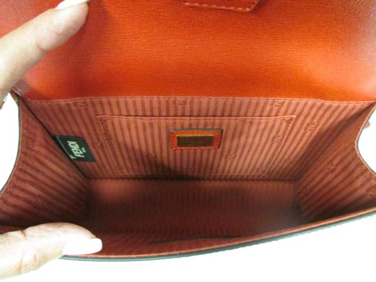 Fendi Demi Jour Piccola Saffiano Leather New Without Cross Body Bag Image 7