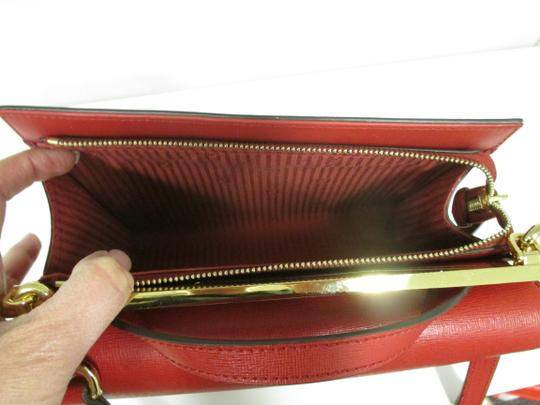 Fendi Demi Jour Piccola Saffiano Leather New Without Cross Body Bag Image 8