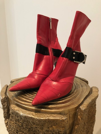 Dior Red Boots Image 1