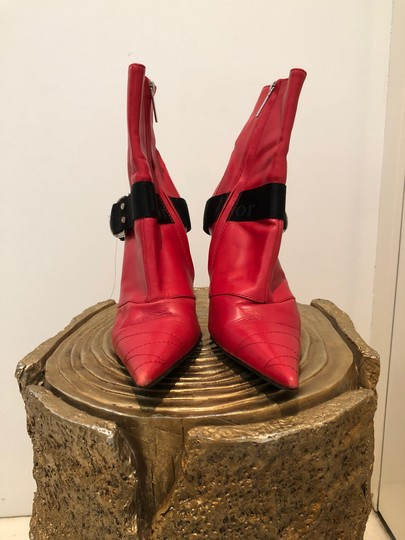Dior Red Boots Image 2