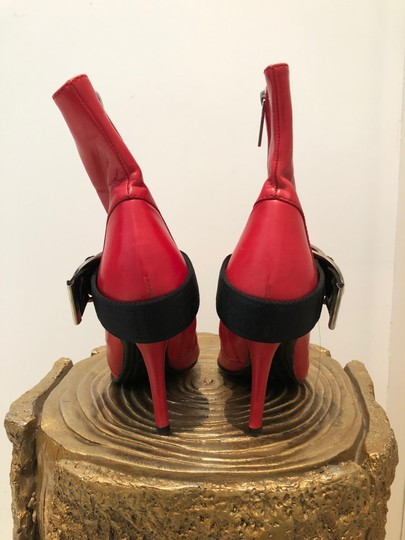Dior Red Boots Image 3