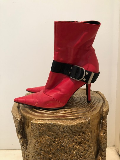 Dior Red Boots Image 4