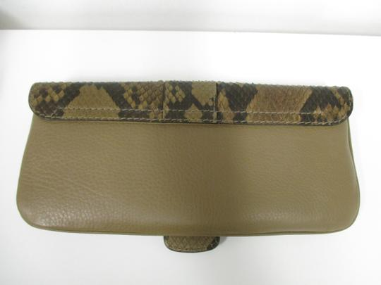 Gucci Taupe Clutch Image 1