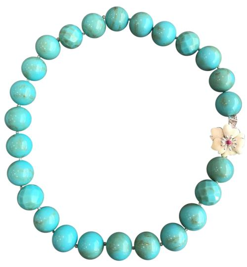 Preload https://img-static.tradesy.com/item/22235745/stella-and-dot-turquoise-aqua-cream-ivory-white-red-silver-large-bead-pink-enamel-hibiscus-necklace-0-1-540-540.jpg